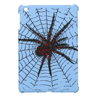 Venomous Black Spider Scary Insect Art Case For The iPad Mini