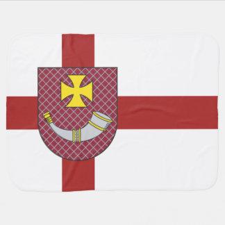 Venstpils Flag Receiving Blanket