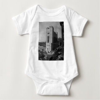 Vent Shaft Washington Street New York City 1928 Baby Bodysuit