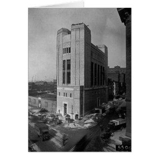 Vent Shaft Washington Street New York City 1928 Card
