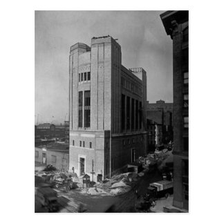 Vent Shaft Washington Street New York City 1928 Postcard