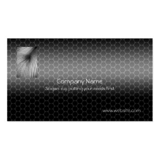 Vent Tubing with Metallic-look template Double-Sided Standard Business Cards (Pack Of 100)