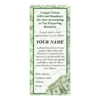 VENTA al impuesto o a las tarjetas del folleto del Lona Publicitaria