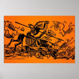 ¡VENTA DE HALLOWEEN! Don Quijote de J. Posada Posters