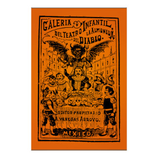 ¡VENTA DE HALLOWEEN! La Almoned del Diablo (Posada Póster