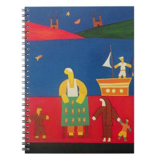 Venta de pescados en el Bosphorus 2003 Note Book