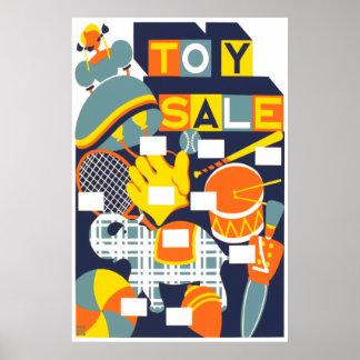 Venta del juguete posters