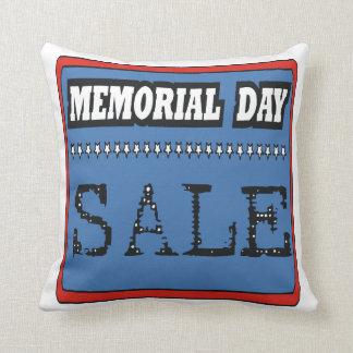 Venta del Memorial Day Almohadas