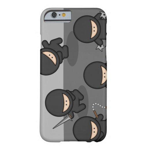 VENTA - poco caso del iPhone 6 de Ninjas Funda De iPhone 6 Barely There