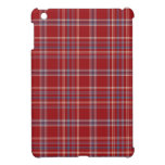 VENTA - tela escocesa roja de Tattersall del mini  iPad Mini Cobertura