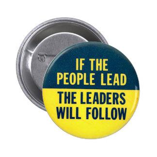 Ventaja de la gente - botón