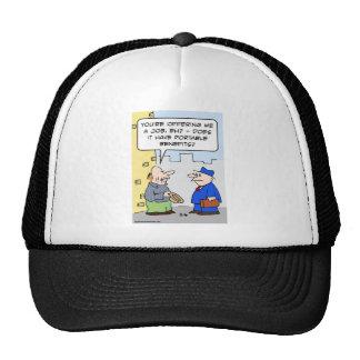 ventajas del portable del trabajo gorras