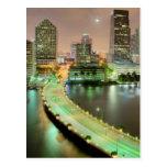 Ventajas del puente a través del canal a Miami cén Tarjetas Postales