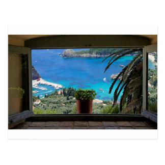 ventana a Grecia Postales