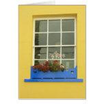 ventana amarilla felicitaciones