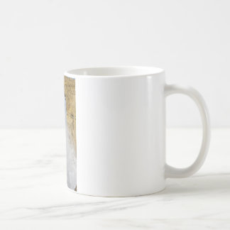 Ventana azul taza de café