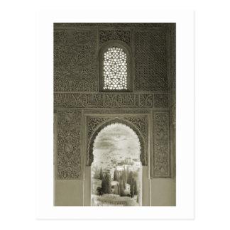 Ventana de Alhambra Postales