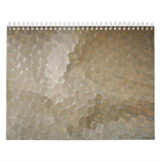 Ventana de cristal de mosaico calendario