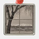 ventana de imagen de madera winter de los ongs del ornato