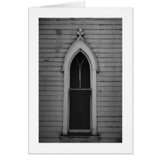Ventana de la iglesia felicitacion
