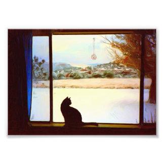 Ventana del invierno de Tosca Fotografías