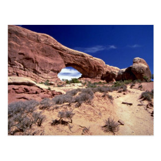 Ventana del norte, arcos parque nacional, forma de postal