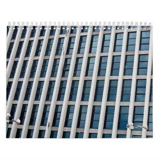 Ventana del rascacielos calendario