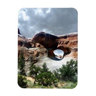 Ventana del sur del parque nacional de los arcos iman flexible
