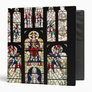 "Ventana en la catedral de Worcester, siglo XV Carpeta 1 1/2"""