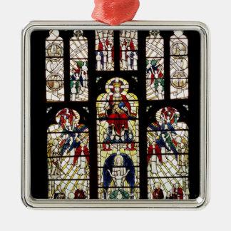 Ventana en la catedral de Worcester, siglo XV Ornaments Para Arbol De Navidad