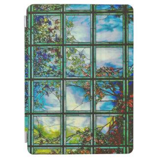 Ventana escénica del vitral del vintage cubierta de iPad air