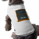 Ventana fantasmagórica camiseta de perrito