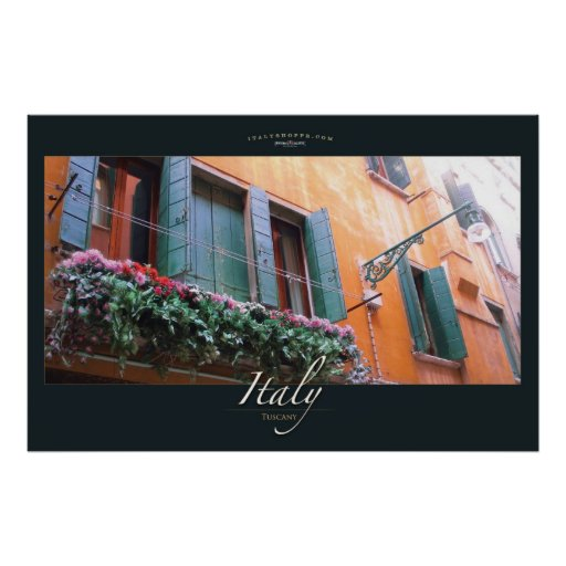 Ventana floral posters