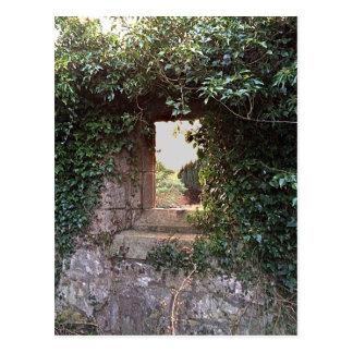 Ventana lateral en Kirk del oeste Culross Postales
