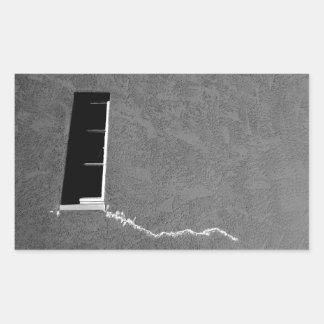Ventana masónica rectangular altavoz