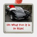 Ventana partida del Corvette del navidad Ornatos