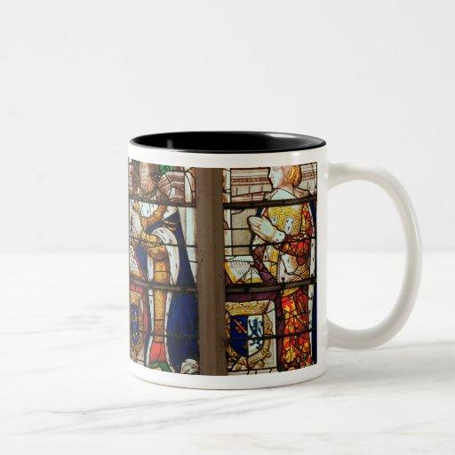Ventana que representa a Jacques de Borbón Tazas De Café