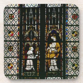 Ventana que representa la Virgen y al Raúl de Ferr Posavaso