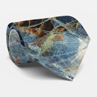 Ventana quebrada corbata personalizada