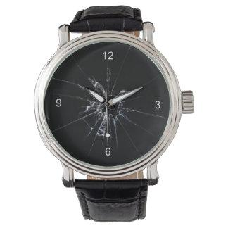 Ventana quebrada relojes