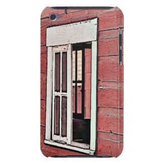 Ventana roja del granero funda Case-Mate para iPod