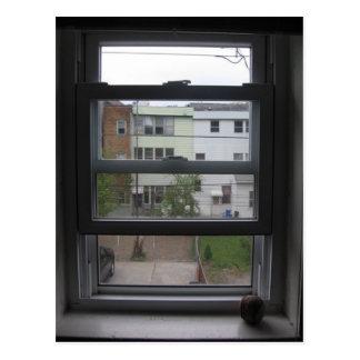 ventana tarjeta postal