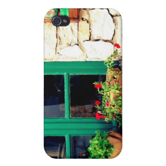 Ventana verde iPhone 4 funda