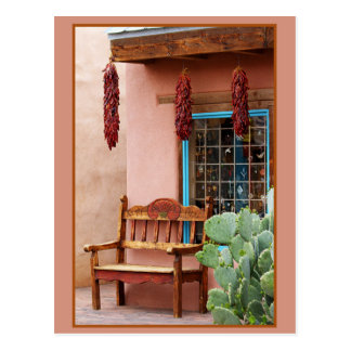 Ventana vieja de la tienda de Albuquerque de la Tarjetas Postales