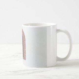 ventana y pared tazas de café