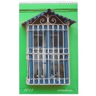 ventanas calendario