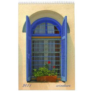 ventanas calendarios