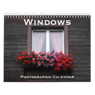 ventanas calendarios de pared