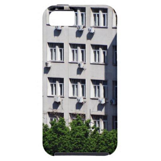 ventanas de la ciudad iPhone 5 cárcasas