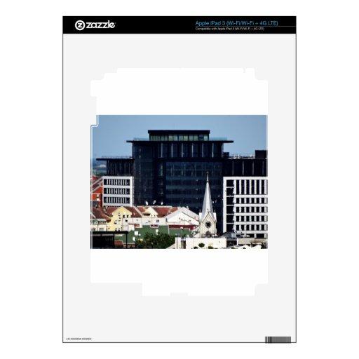 ventanas de la ciudad pegatinas skins para iPad 3